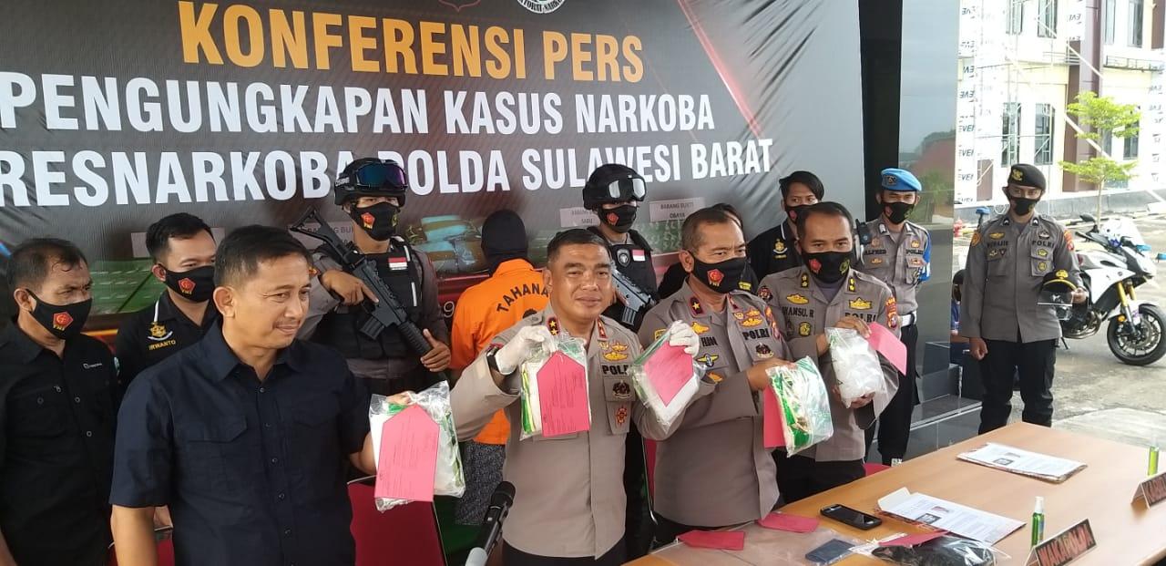 Pemilik Sabu 5 Kg Tertangkap di Majene