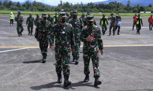 Wakil Kasau Inspeksi ke Lanud Sam Ratulangi Manado