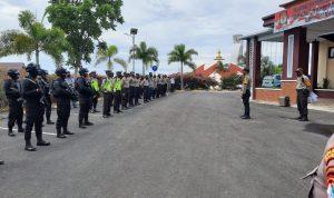 Apel Kesiapan Pengamanan Debat Putaran Kedua Paslon Pilkada Majene