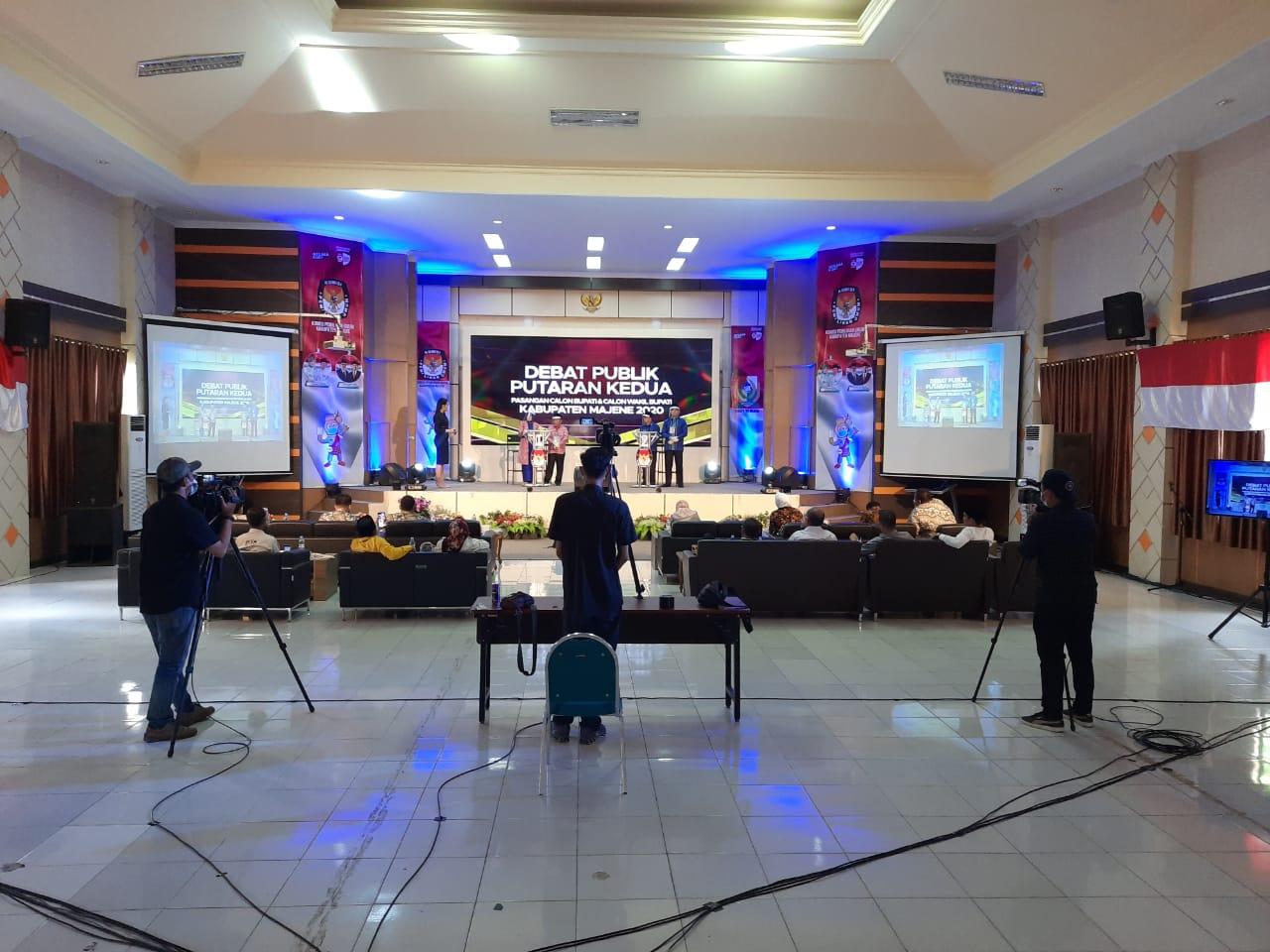 Debat Putaran Kedua, Polres Majene Makin Perketat Pengamanan