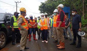 Pengerjaan Ruas Jalan Martadinata Hingga Tappalang Barat Ditarget Rampung Akhir Tahun