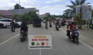 153 Orang Terjaring Operasi Non Yustisi di  Pasangkayu