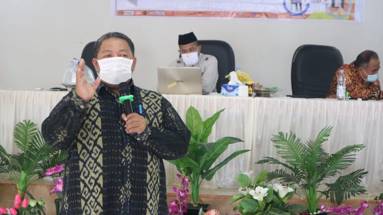 Demi Wujudkan Pilkada Demokratis dan Berkualitas, KPU Pasangkayu Hadirkan Ombudsman Sulbar