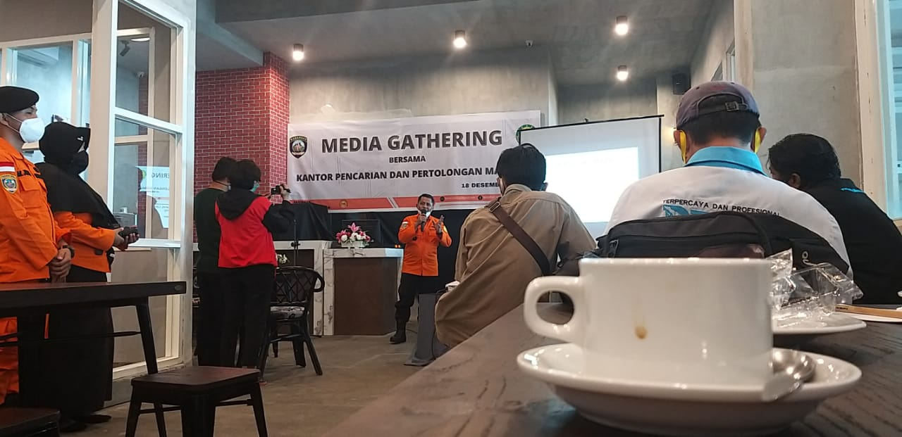 Basarnas Mamuju Gelar Media Gathering