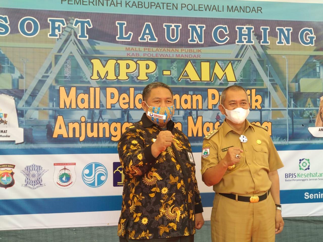 Ombudsman Sulbar Apresiasi Mall Pelayanan Publik Anjungan Izin Masagena