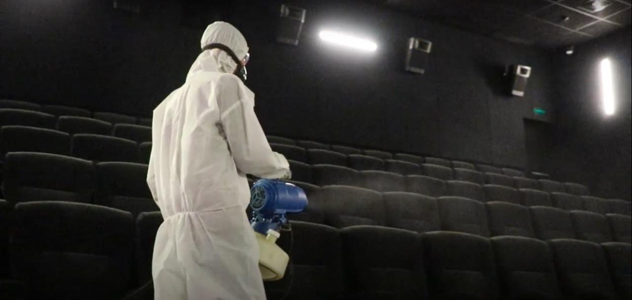 Terapkan Protokol Kesehatan Bioskop di Mamuju Kembali Dibuka