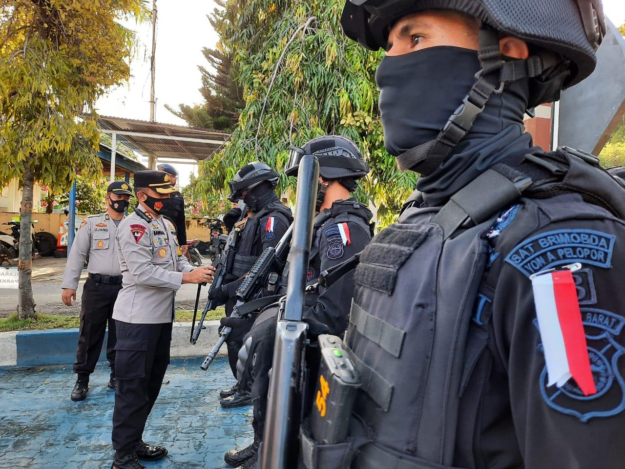335 Personil Pengamanan TPS Dibekali APD