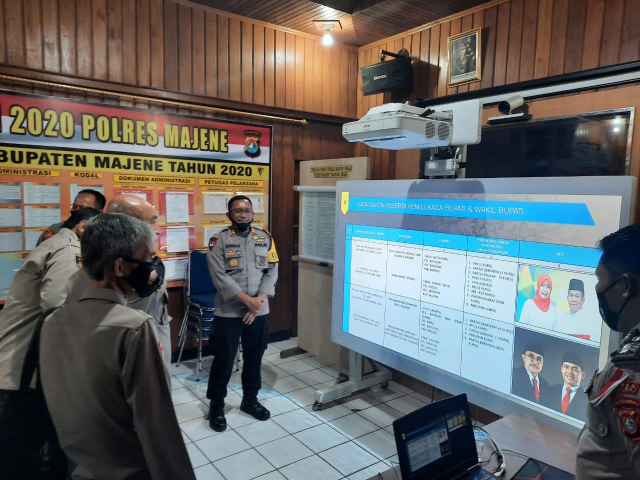 Tim Supervisi dan Asistensi Mabes Polri Kunjungi Polres Majene