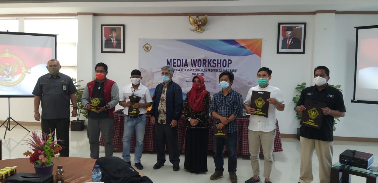 BPK Sulbar Gelar Workshop Media
