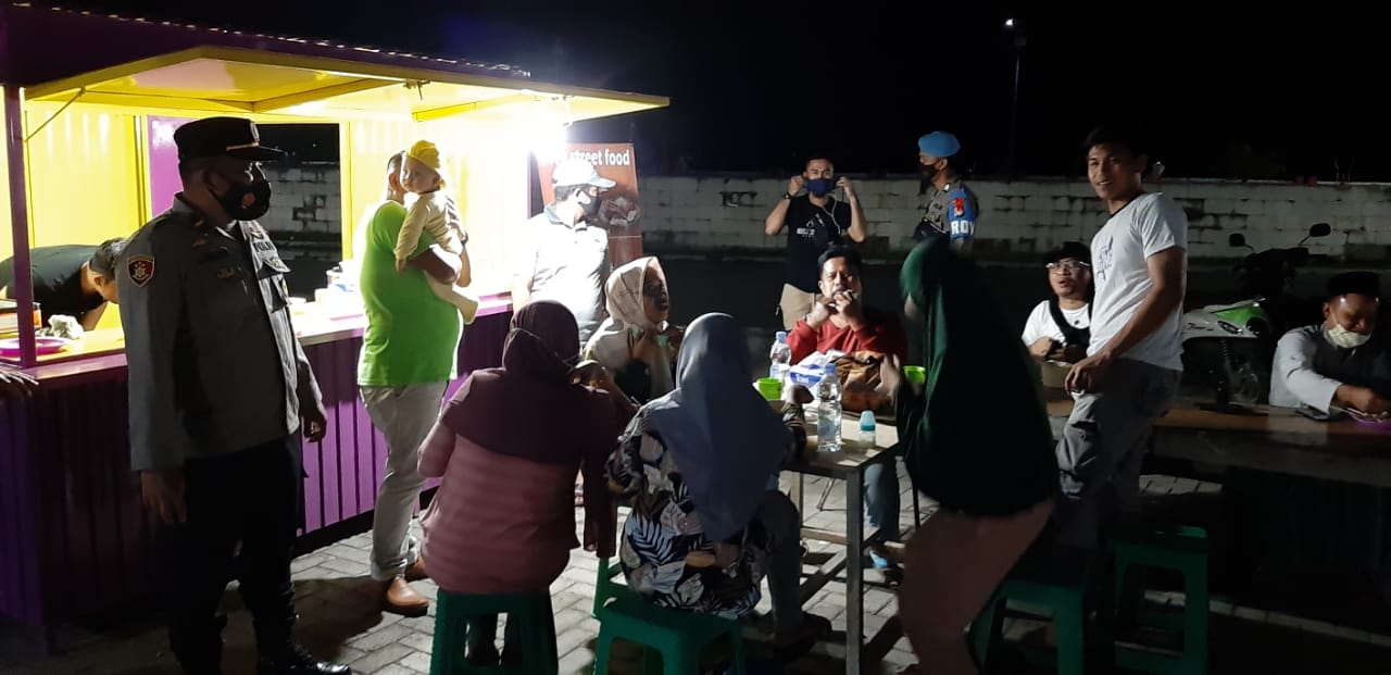 Polres Pasangkayu Edukasi Warga Menaati Protokol Kesehatan