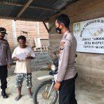 Sat Binmas Polres Mateng Sampaikan Maklumat Kapolri kepada Masyarakat