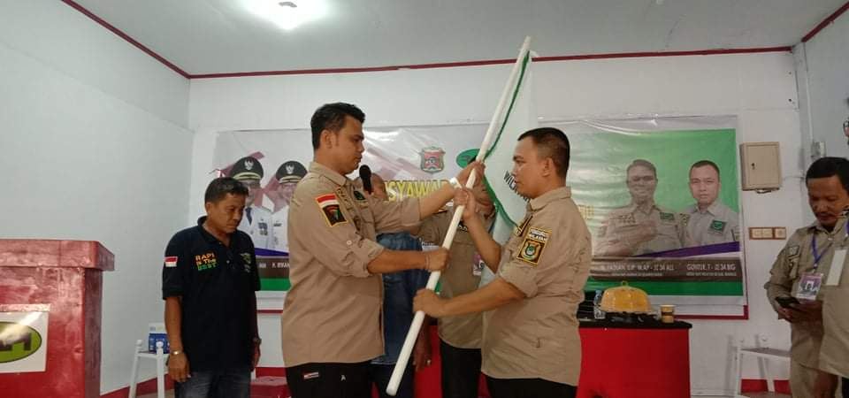 Guntur Resmi Pimpin RAPI Wilayah 03 Kabupaten Mamuju