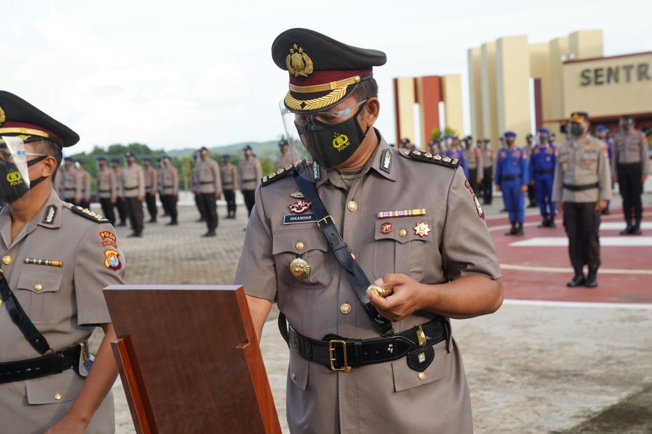 Kapolresta Mamuju Resmi Berganti, Kini Dijabat Kombes Pol Iskandar