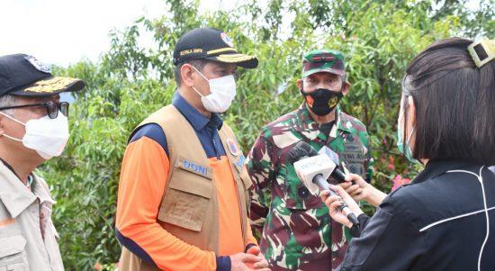 Letjen TNI Doni Monardo : Meninjau lokasi pengungsian