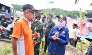 Ka BMKG Sosialisasi di Tempat Pengungsi Bencana Alam