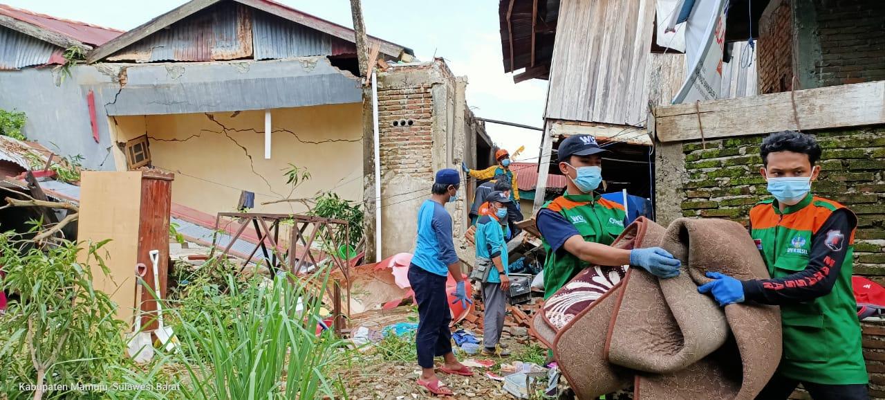 Wahdah Islamiyah Komitmen Ikut Terlibat Dalam Upaya Pemulihan Pasca Gempa