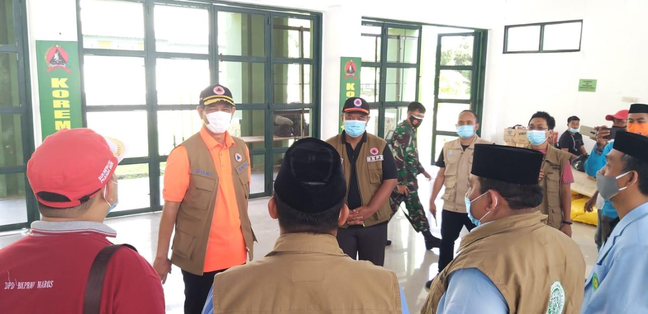Ka. BNPB dan Gubernur Sulbar mengunjungi Korem 142/Tatag