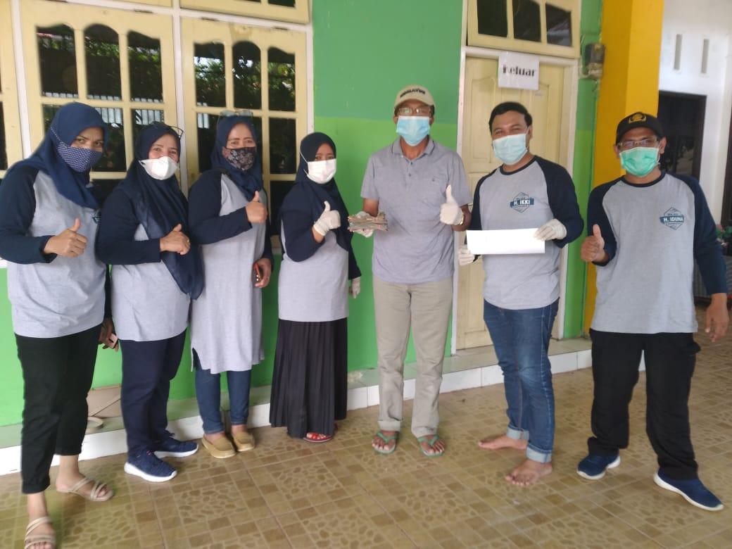 Keluarga Besar Badjo Kota Bontang, Salurkan Bantuan Gempa Mamuju-Majene
