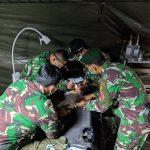Baru Sehari Dibuka Rumah Sakit Lapangan TNI - AD Diserbu Pasien