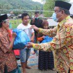 Kanwil Kemenag Sulbar Salurkan Bantuan 150 Paket Sembako