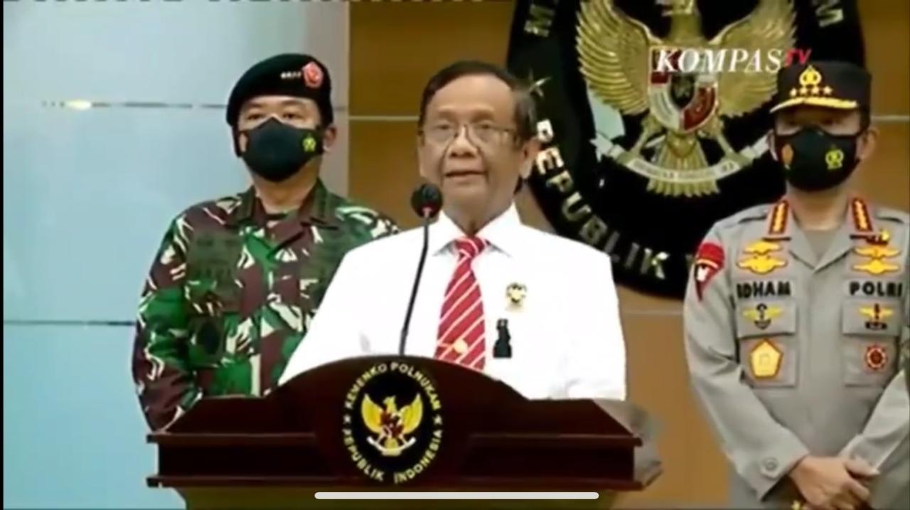 Sah! Pemerintah Larang Seluruh Kegiatan FPI