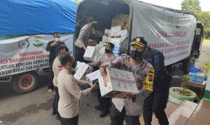 Bantuan Kemanusian Terus Berdatangan untuk Majene, Kali ini dari Polrestabes Makassar