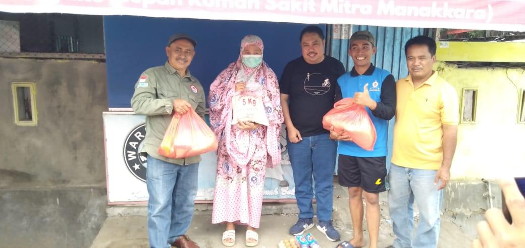 KPID Sulteng Salurkan Bantuan Dilokasi Pengungsian