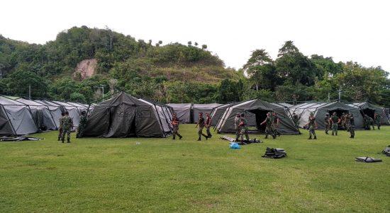 TNI-AD Siapkan Rumah Sakit Lapangan di Korem 142/Tatag