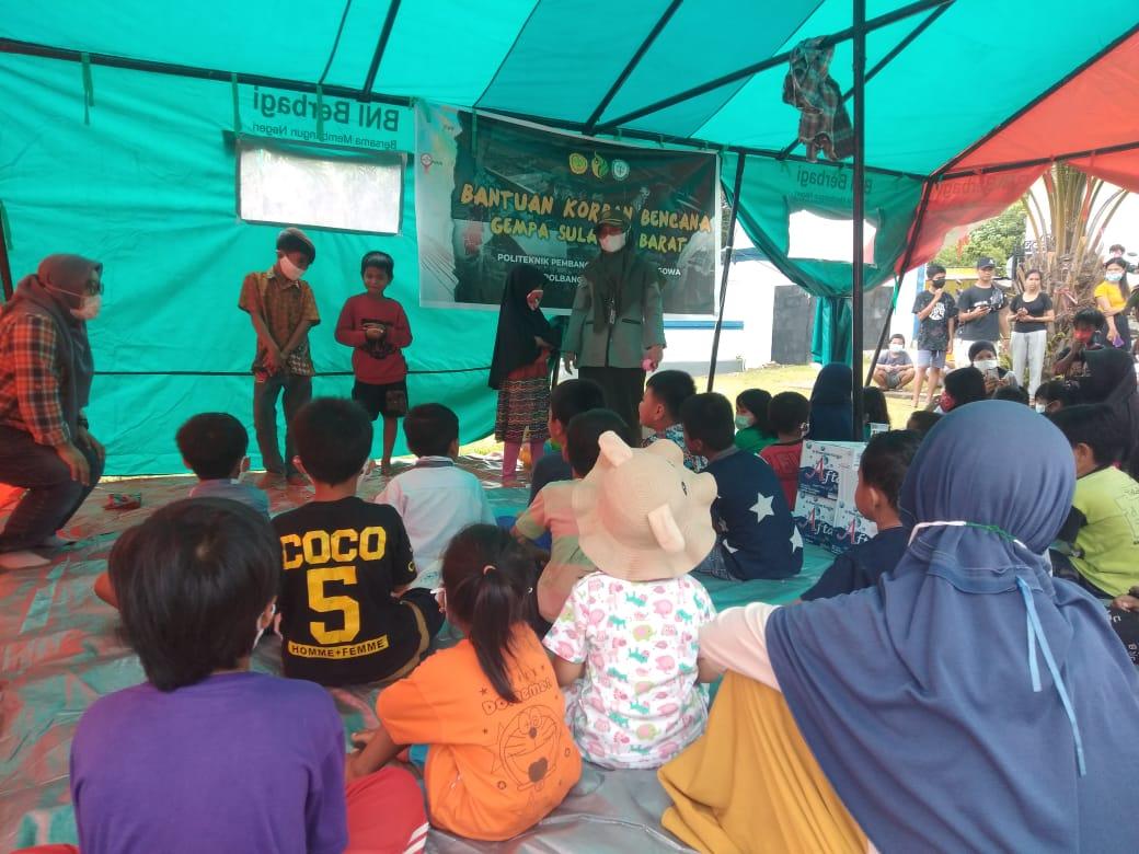 Berbagai Komunitas dan Relawan Bersatu Bantu Korban Gempa
