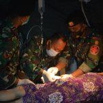 Hasnur : Luar Biasa, Penanganan Rumah Sakit Lapangan TNI - AD Sangat Cepat