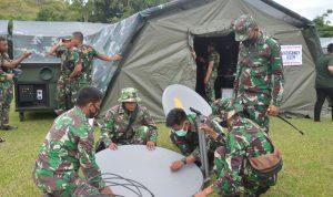 Rumah Sakit Lapangan Milik TNI AD Dilengkapi Dengan Komob