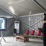 Kapolda Sulbar  Hadiri Pelantikan Kapolri Secara Virtual