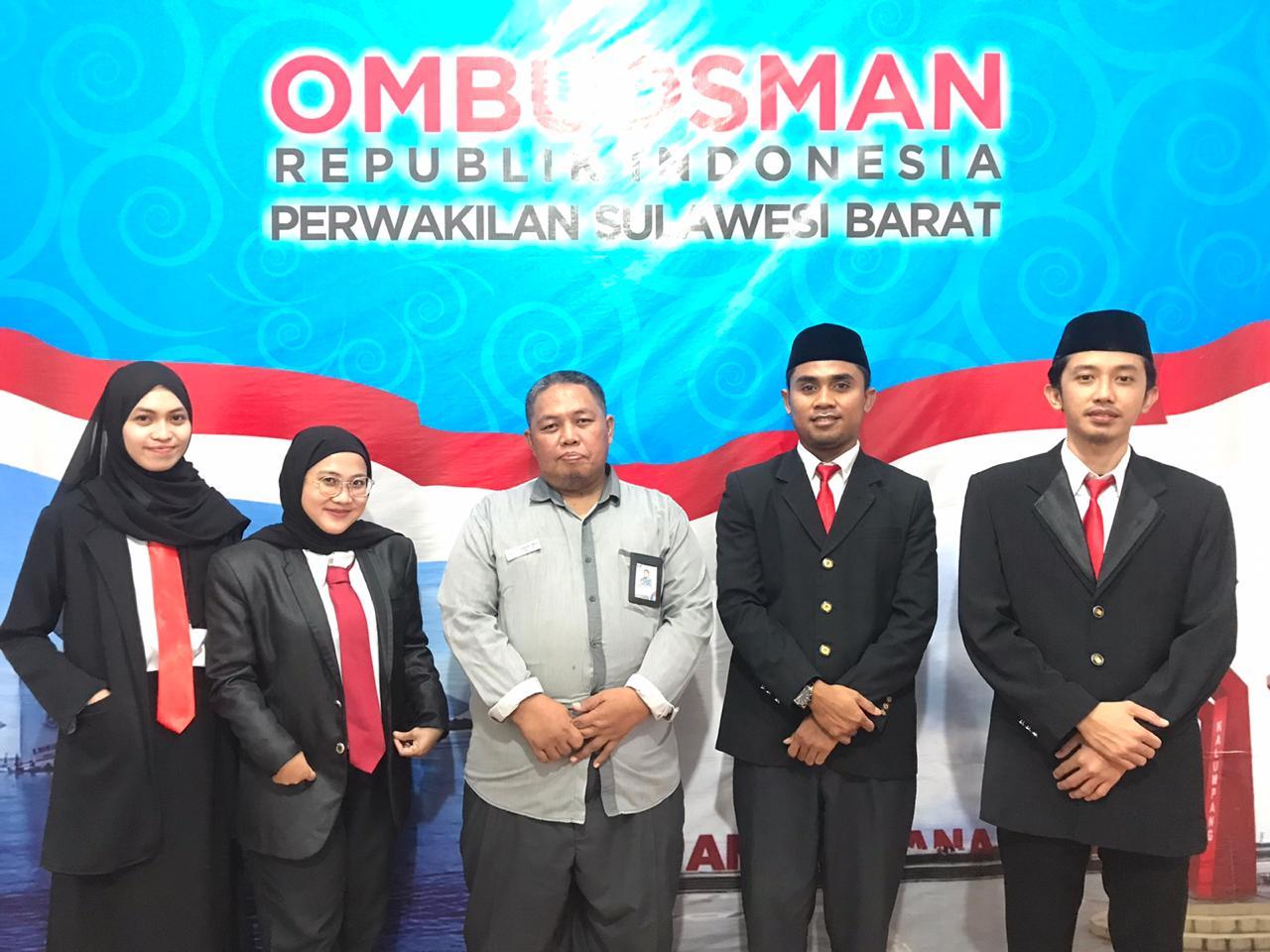 Naik Jenjang, 5 Asisten OmbudsmanSulbar Ditantang Melakukan yang Terbaik