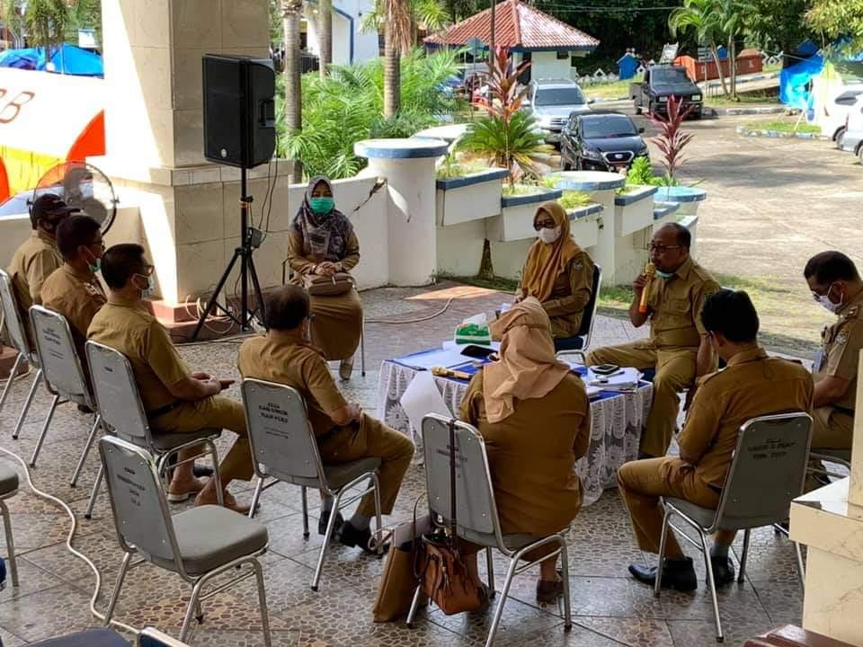 Pemkab Mamuju Laksanakan Rapat Evaluasi Pascagempa