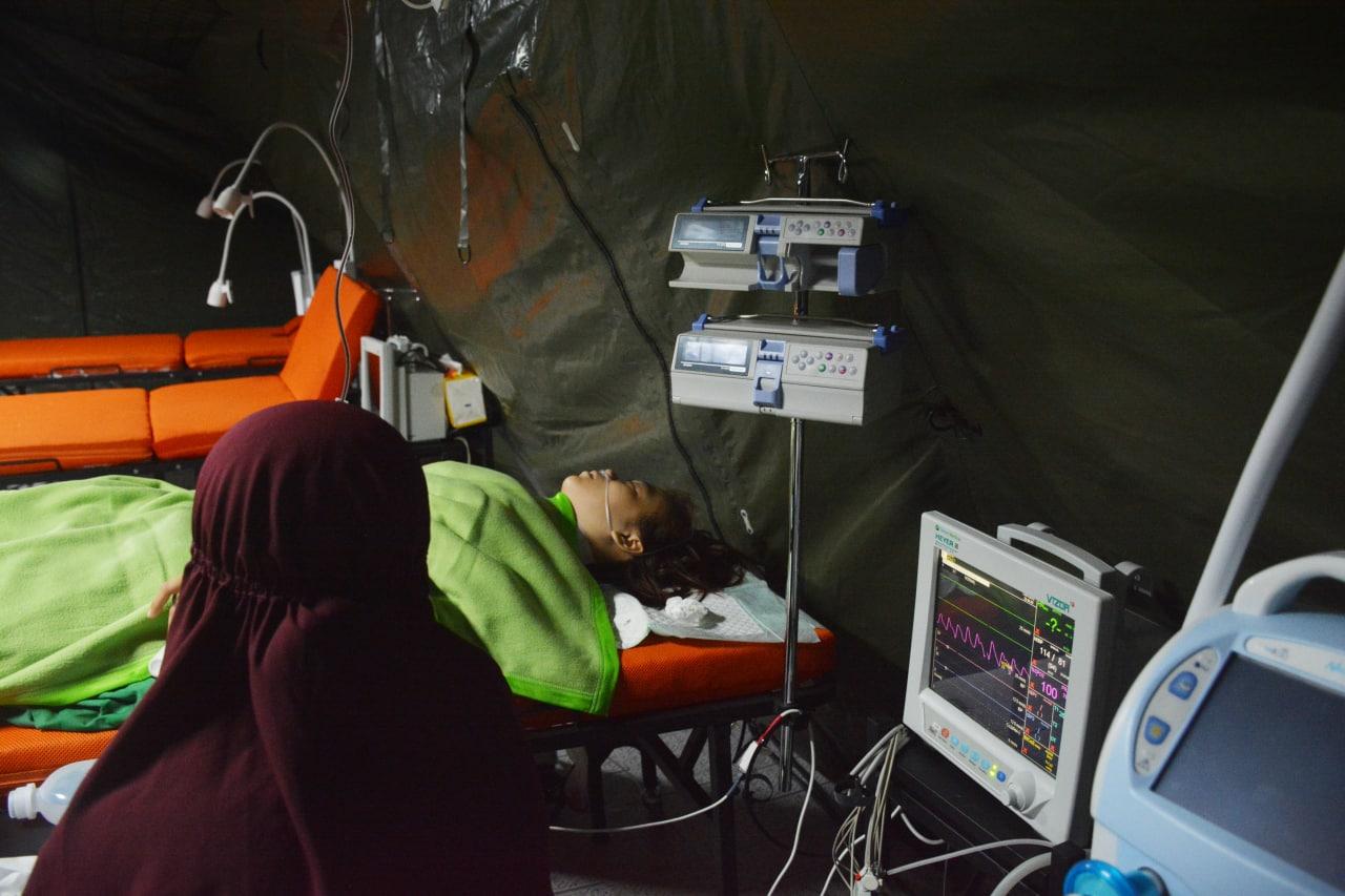 Rumah Sakit Lapangan TNI - AD Operasi Kelenjar Tiroid