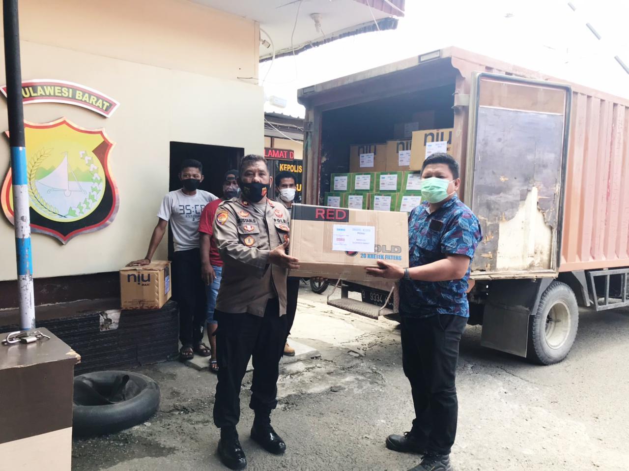 Bantuan Kemanusiaan dari PT Unggul Widya