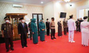 Kapolda Sulbar Hadiri pelantikan 3 Pasang Bupati dan Wakil Bupati Terpilih