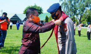 Bupati Majene Sebut BKO Satuan Brimob Sulsel Pasukan Yang Setia