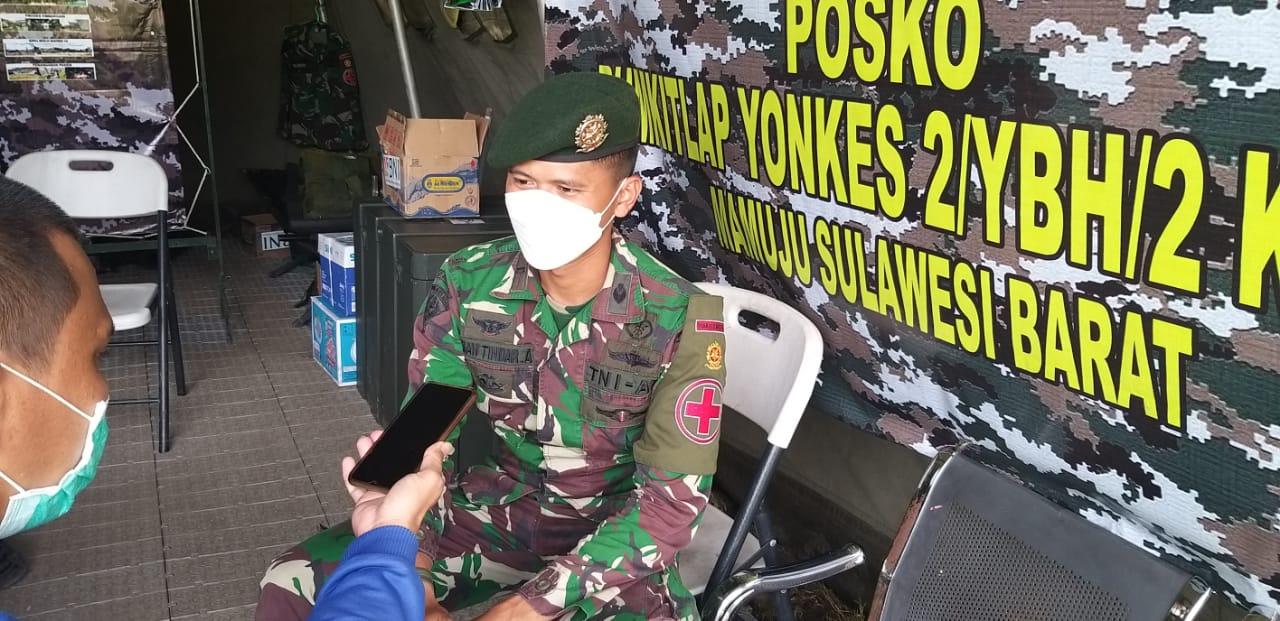 RS Lapangan TNI -AD Sudah Tangani 496 Pasien