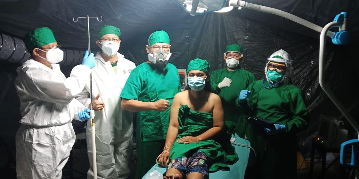 11 Tahun Menderita Penyakit, Teratasi di RS Lapangan TNI AD