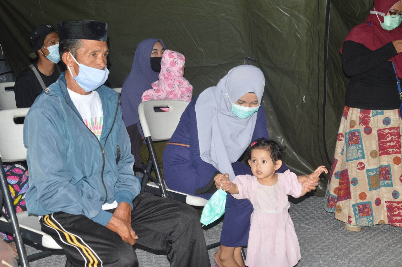Irham Kagum Terhadap Rumah Sakit Lapangan TNI AD