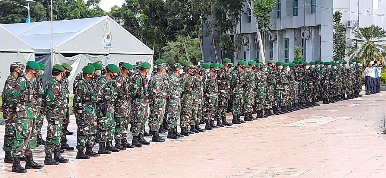 Dandim 1418/Mamuju : Satuan TNI AD Siap Bergerak Kapan Saja