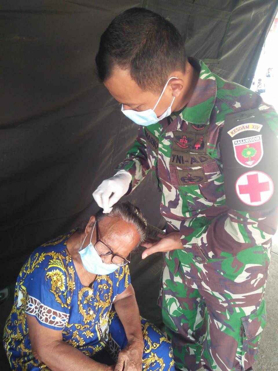 Rumah Sakit lapangan TNI AD dan Posko Kesehatan Aktif Layani Pasien