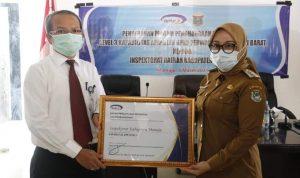 Inspektorat Mamuju Raih Penghargaan Peningkatan Kapabilitas APIP Level 3