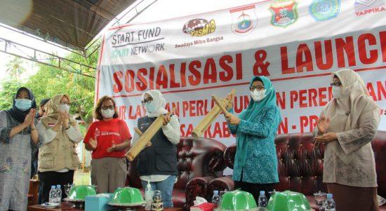 Layanan Perlindungan Perempuan dan Anak di Launching, Bupati Puji Desa Taan