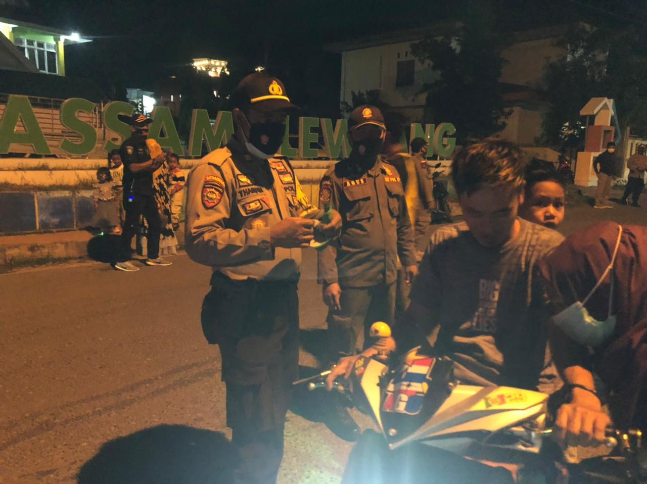 Polres Majene Terus Gencarkan Operasi Yustisi