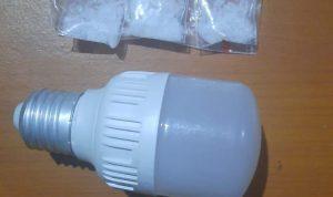 Sembunyikan Shabu di Balon Lampu, Dit Narkoba Polda Sulbar Amankan Pasutri