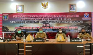 Menunggu Hasil Supervisi Ombudsman Sulbar Bupati Polman Tunda Mutasi Pegawai