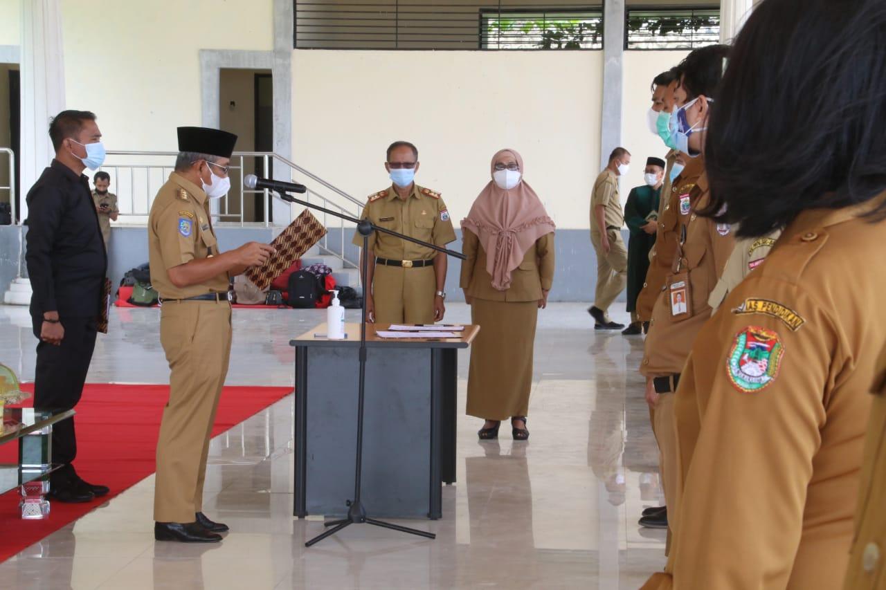Gubernur Sulbar Lantik 269 Pejabat Fungsional
