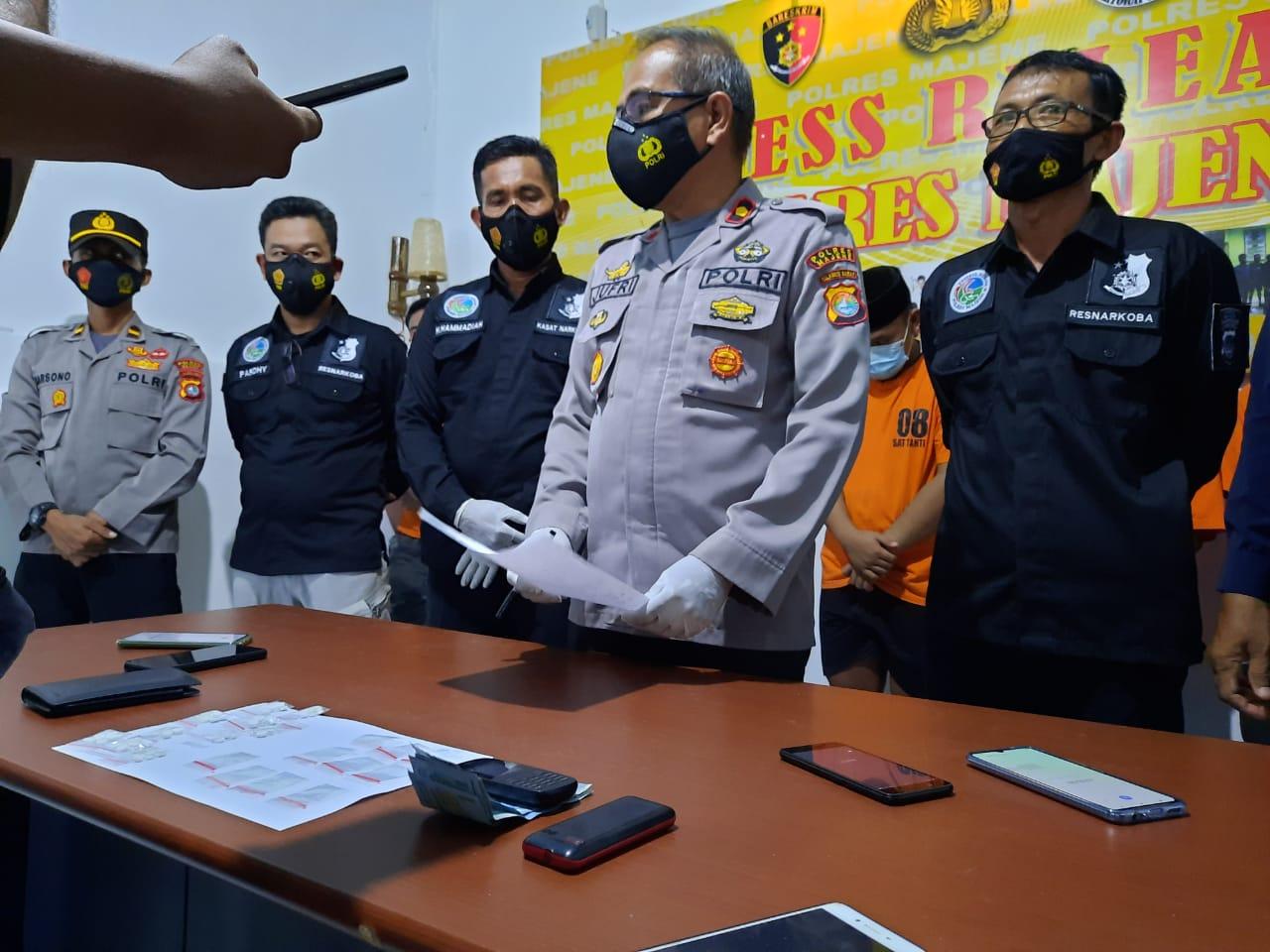 Satuan Reserse Narkoba Polres Majene Bongkar Aksi Penyalahguna Narkotika